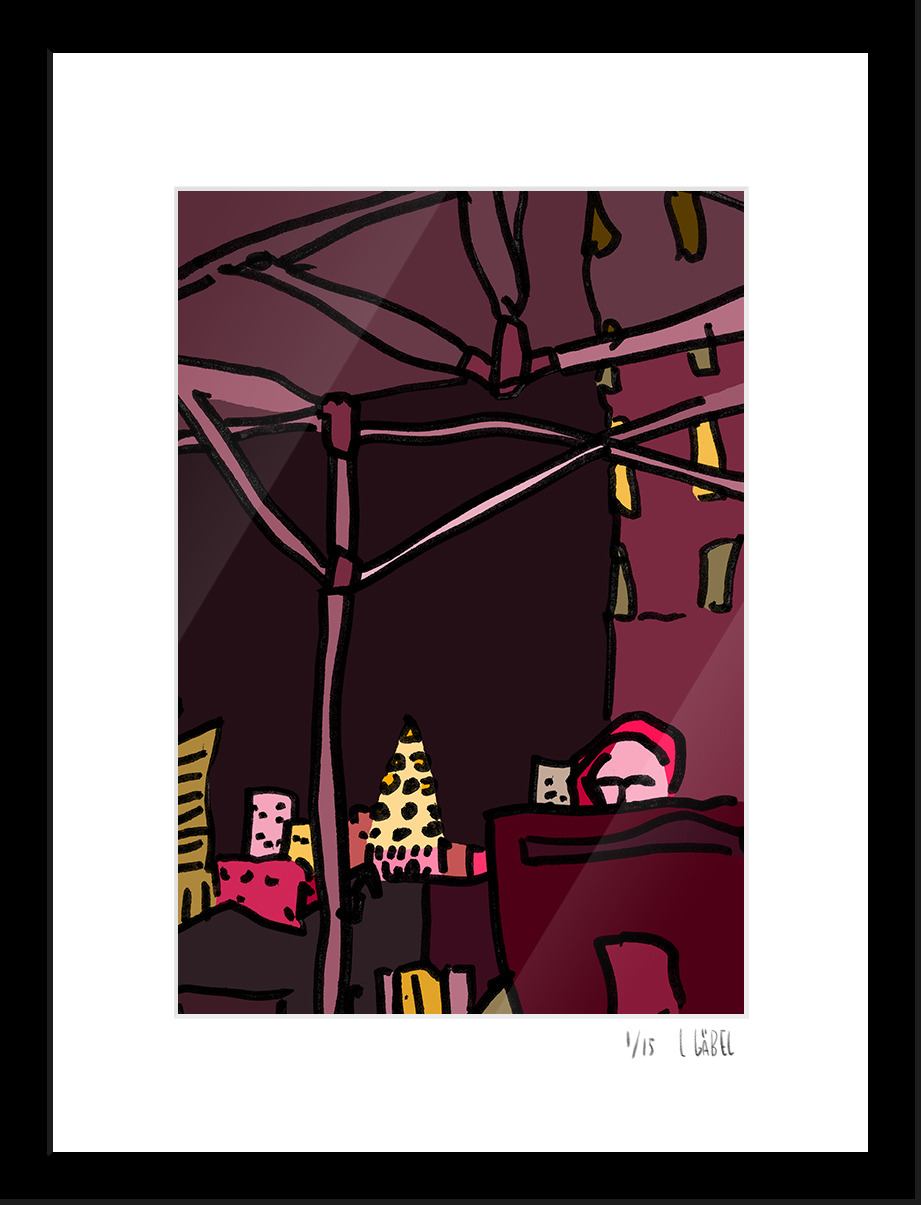 Williamsburg Festival - limited to 15 prints only - €150