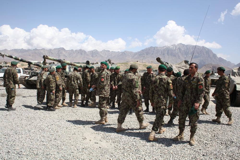 Located just outside of Kabul, the 111 Battalion Military base is home to a faction of the Afghan National Army. Here soldiers from a broad range of tribal, linguistic, and ethnic backgrounds serve together under the umbrella of one Afghanistan.