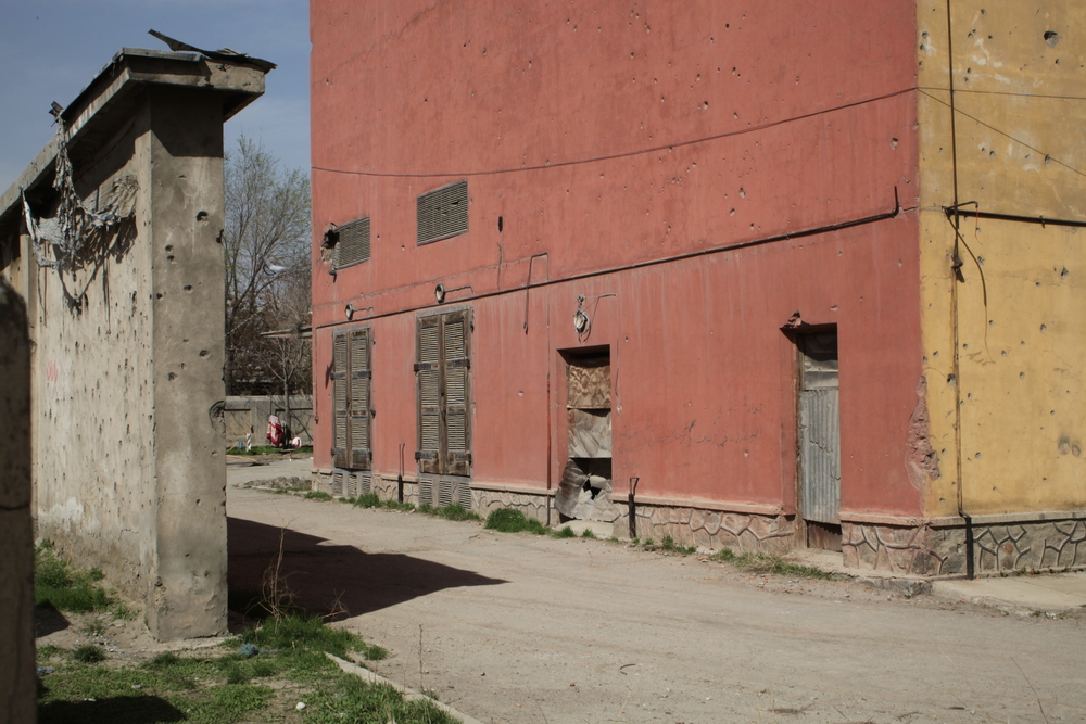 The 'Silo' Bakery is one of over 150 Soviet infrastructural projects built in Afghanistan. Today it supplies bread to the ministry of defense and the ministry of the interior.
