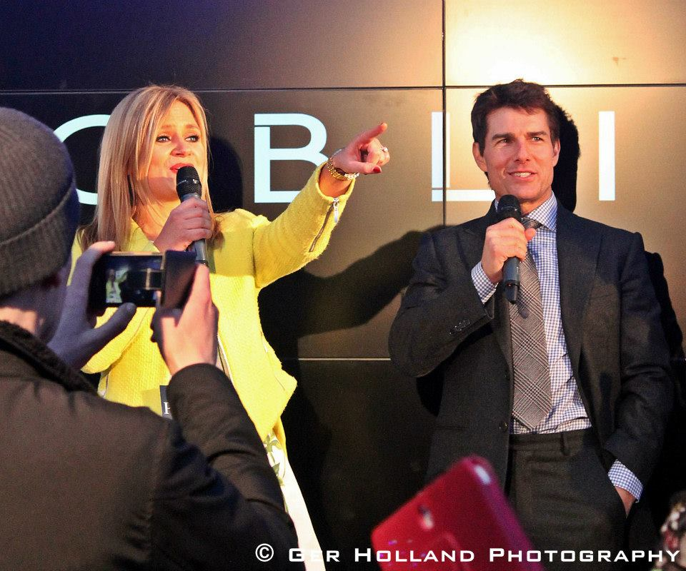 Karen Koster & Tom Cruise