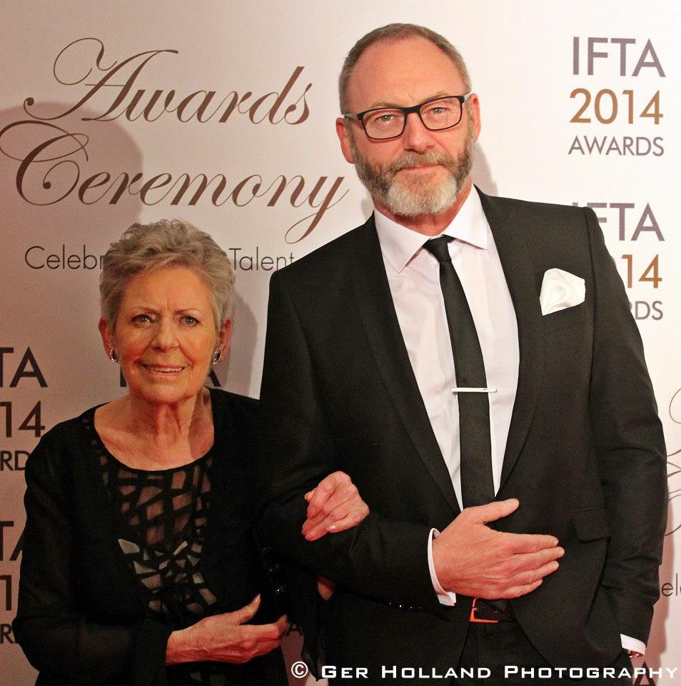 Liam Cunningham & Mum