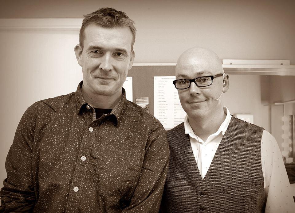 David Mitchell & John Boyne