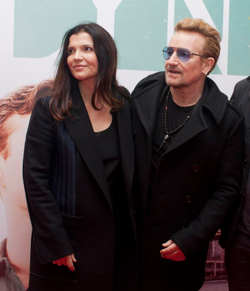 Ali Hewson & Bono - Brooklyn 2015