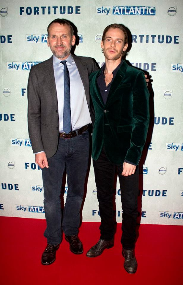 Christopher Eccleston & Luke Treadaway - Fortitude 2015