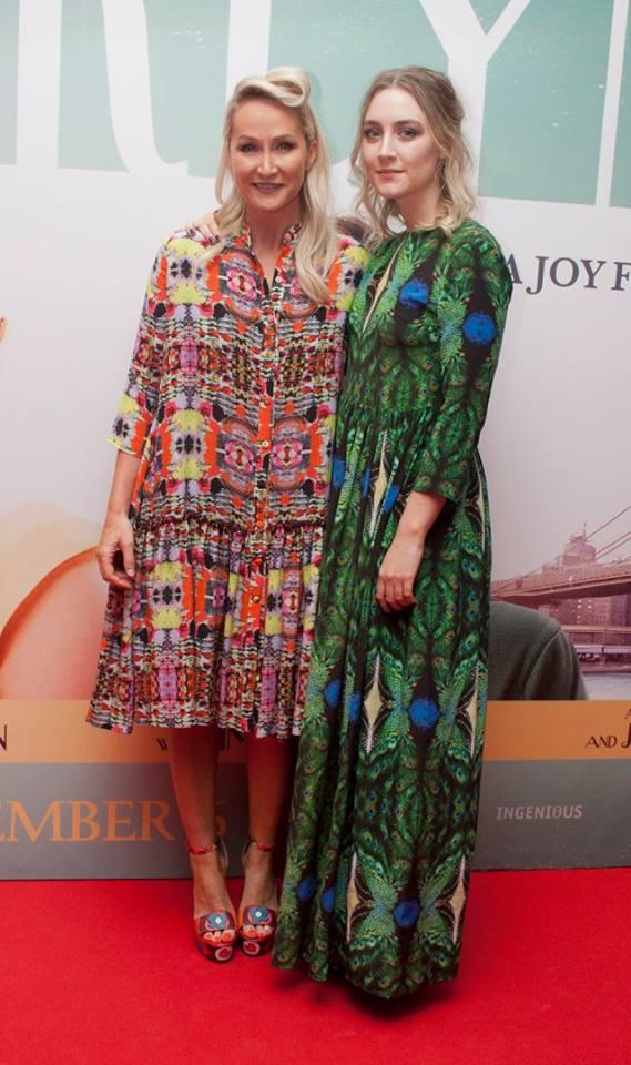 Helen Steel & Saoirse Ronan - Brooklyn 2015