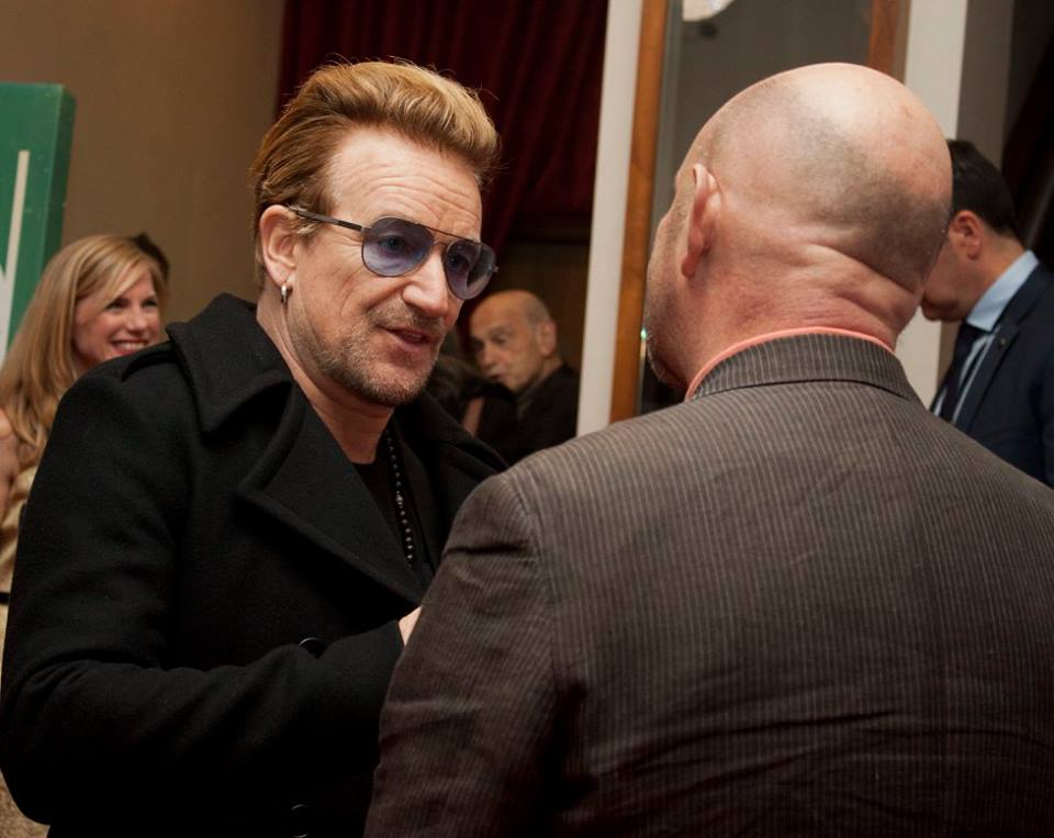 Bono & Nick Hornby - Brooklyn 2015