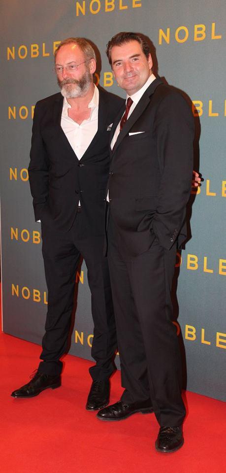 Liam Cunningham & Brendan Coyle - Noble 2014