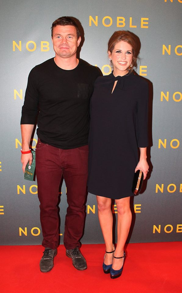 Brian O' Driscoll & Amy Huberman - Noble 2014