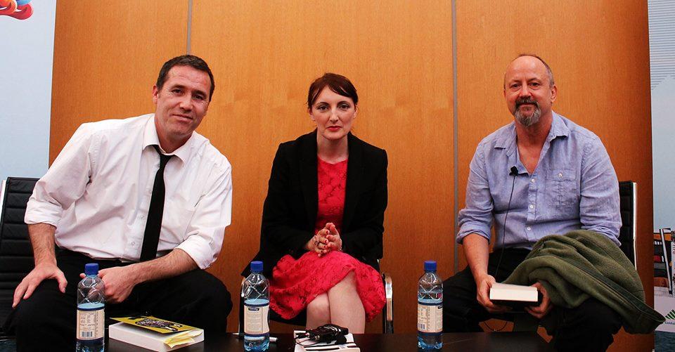 Declan Burke, Sinead Gleeson & Declan Woodrell