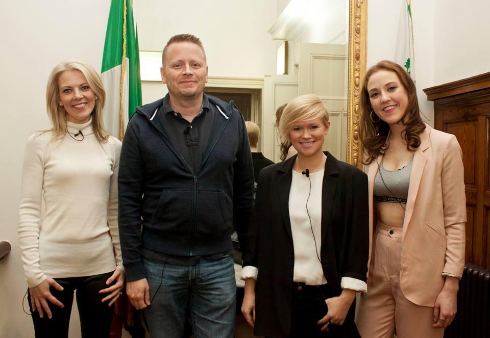 Sarah Crossan, Patrick Ness, Cecelia Ahern & Louise O' Neill