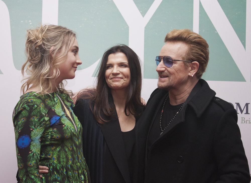 Saoirse Ronan, Ali Hewson & Bono