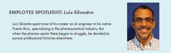 EMPLOYEE SPOTLIGHT: Luis Silvestre