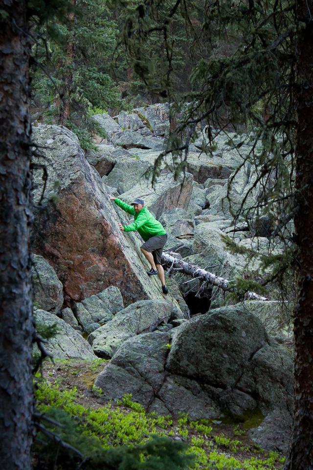 Chris - Bouldering