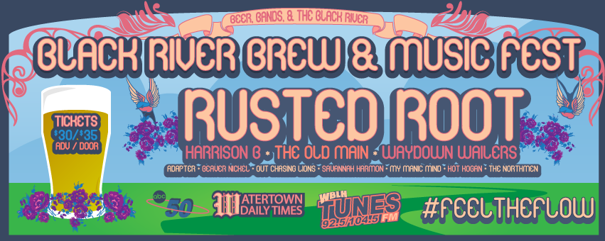 Black River Brew & Music Fest - Featuring Rusted Root, Harrison B, & Guests
