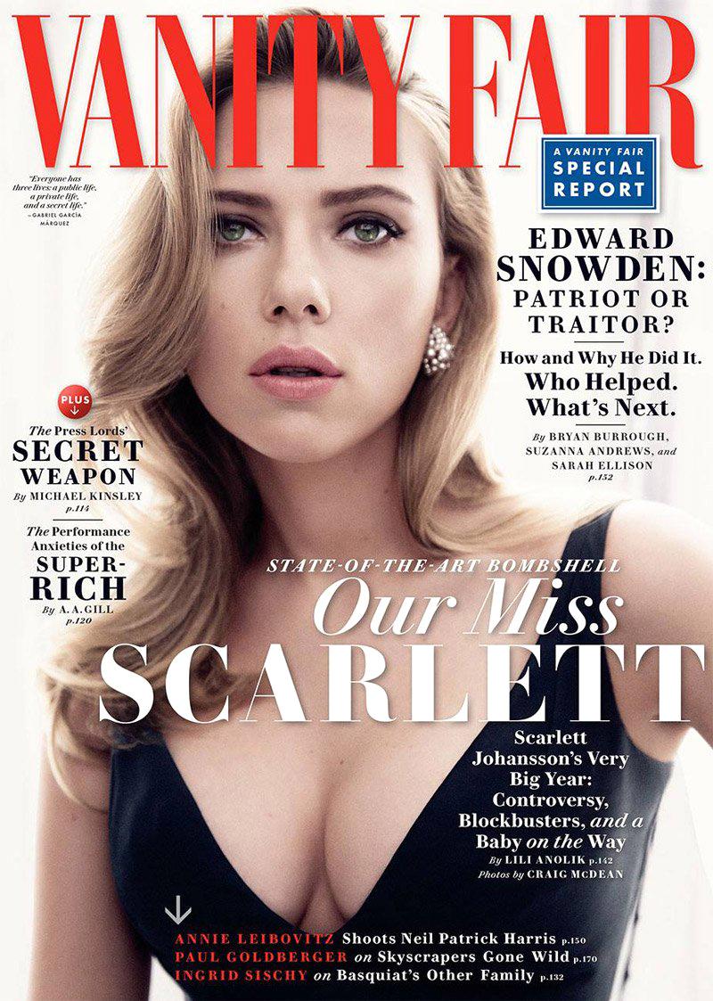 Lili Anolik - Vanity Fair - Scarlett Johansson - May 2014