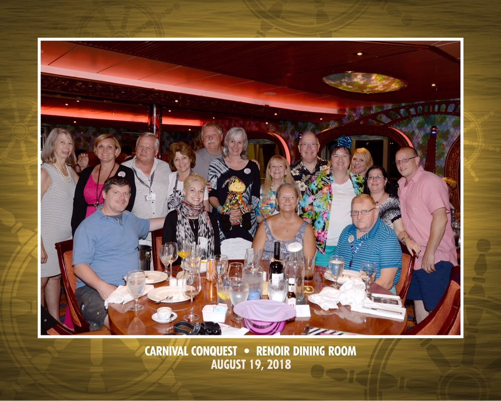 "Carnival conquest ""dazzle in the sun"" cruise August 2018"