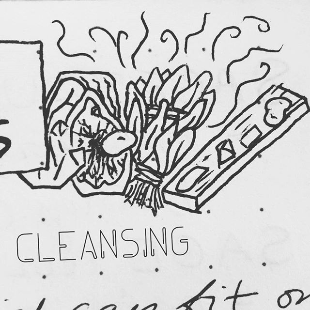 Taking notes on smudging and selenite cleansing 🌿💨🔮😍 #cleansing #stones