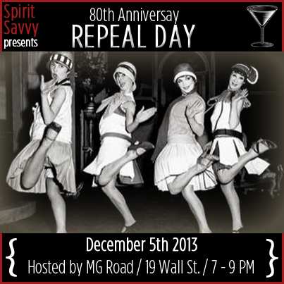 Spirit Savvy produced 80th Anniversary of Repeal Day Event in Asheville NC.