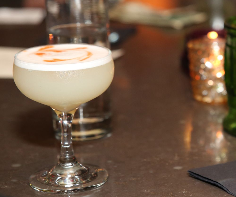 Pisco Sour at MG Road