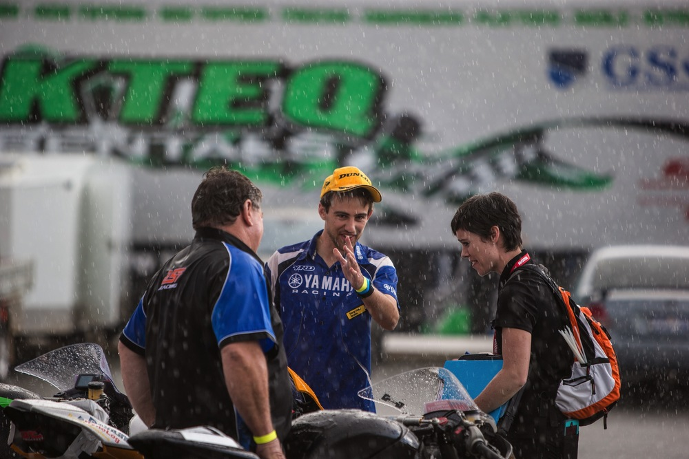 The weather for race weekend was near perfect, except for that little rain shower that happened late on Saturday...