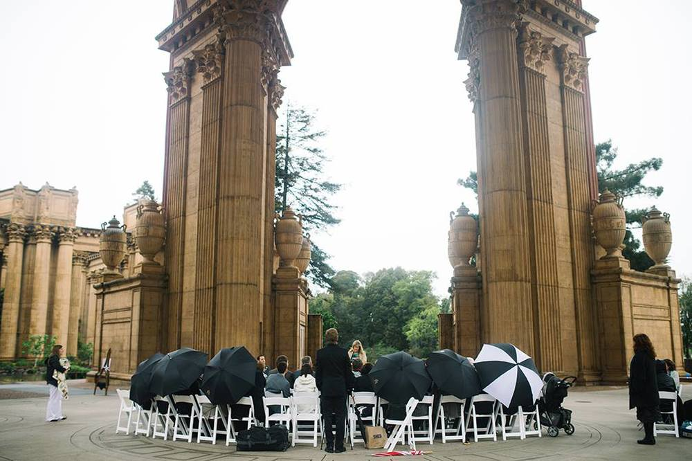 Love this shot of all the umbrellas