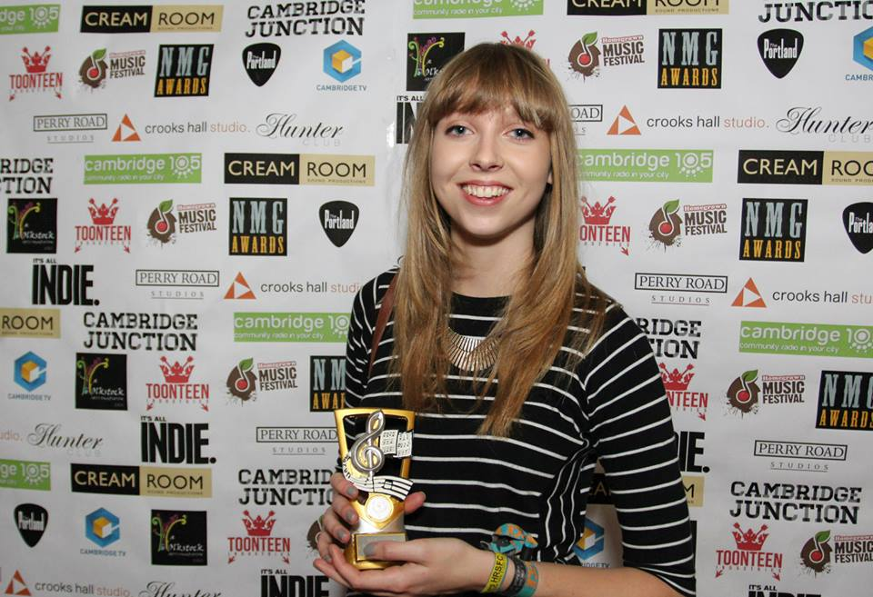 Rachel Clark - NMG Awards 2014 - Best Under 18 Solo Act - 02.jpg