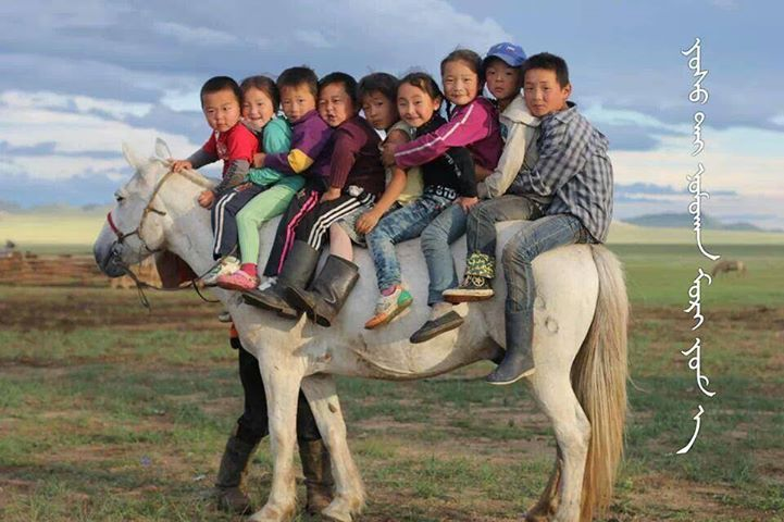Traditional Mongolian culture taught in kindergarten
