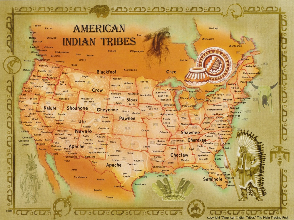 Native American Tribes in USA Tribal Bridge
