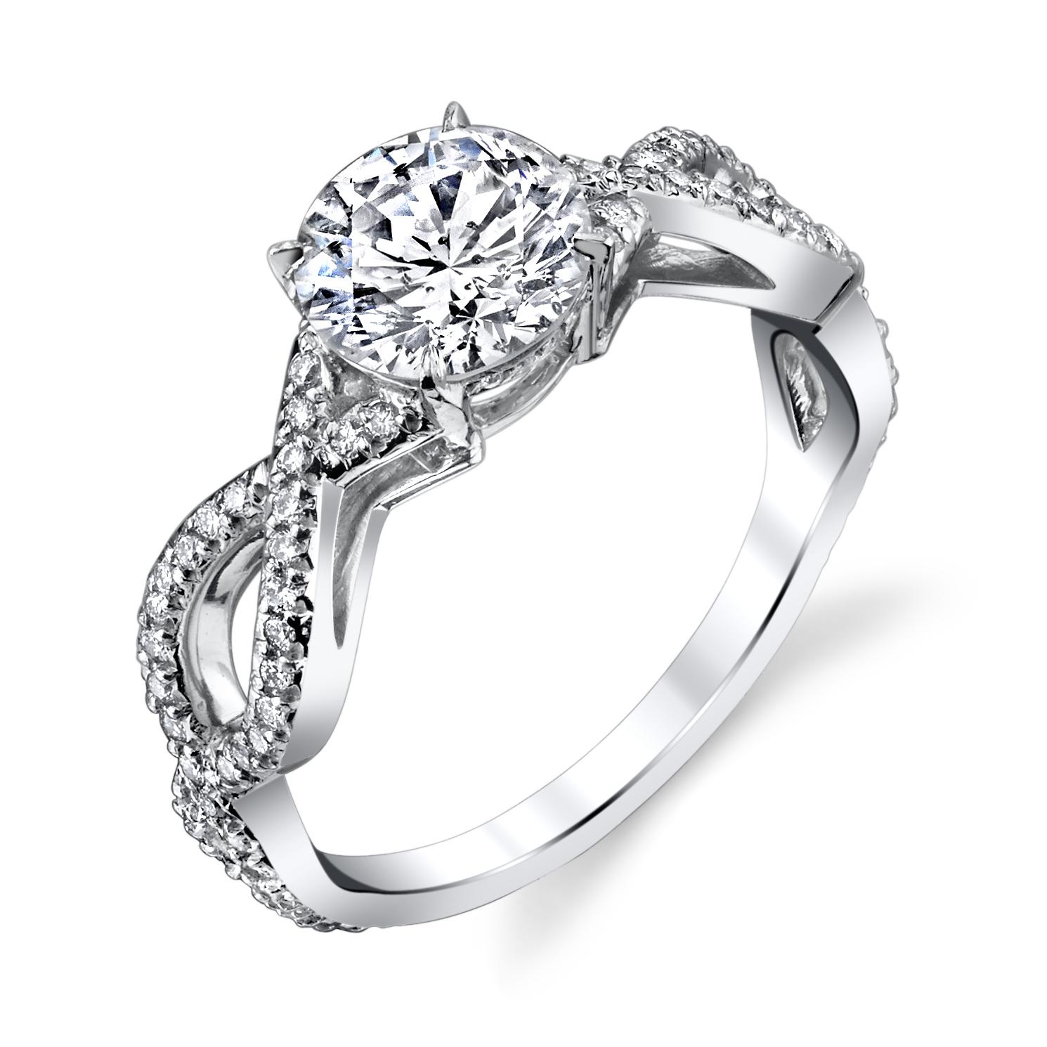 6c7f479e7174 Round Cut Infinite Diamond Ring — Ricardo Basta Fine Jewelry