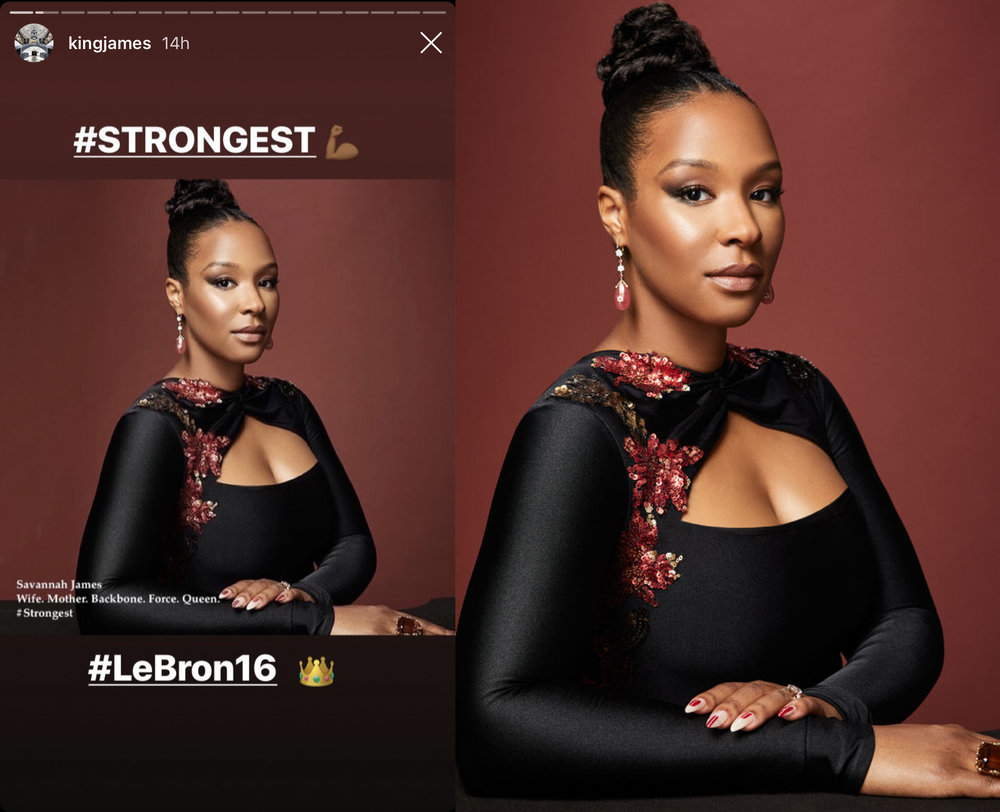 Savannah James wearing Ricardo Basta Fine Jewelry