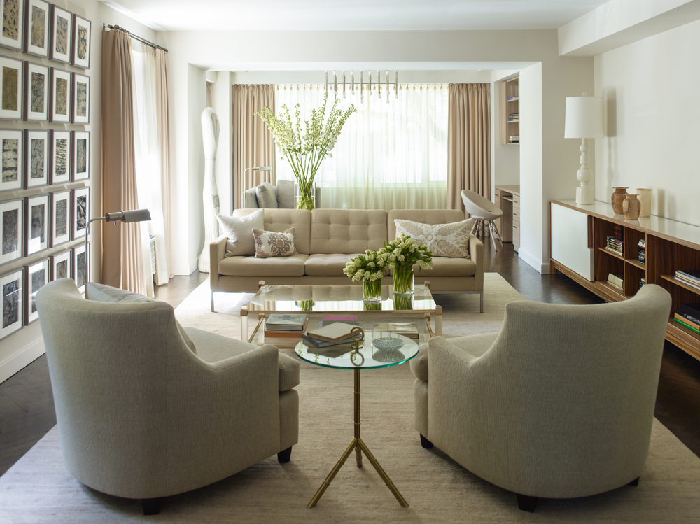 Hernandez Greene - Upper East Side Living Room