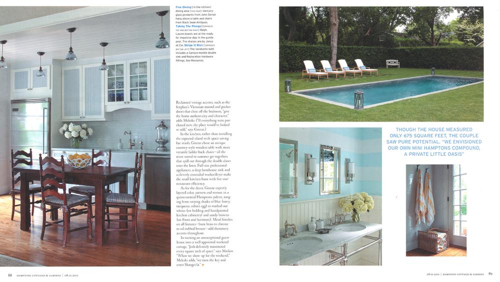 Hernandez Greene - Hamptons Cottages & Gardens