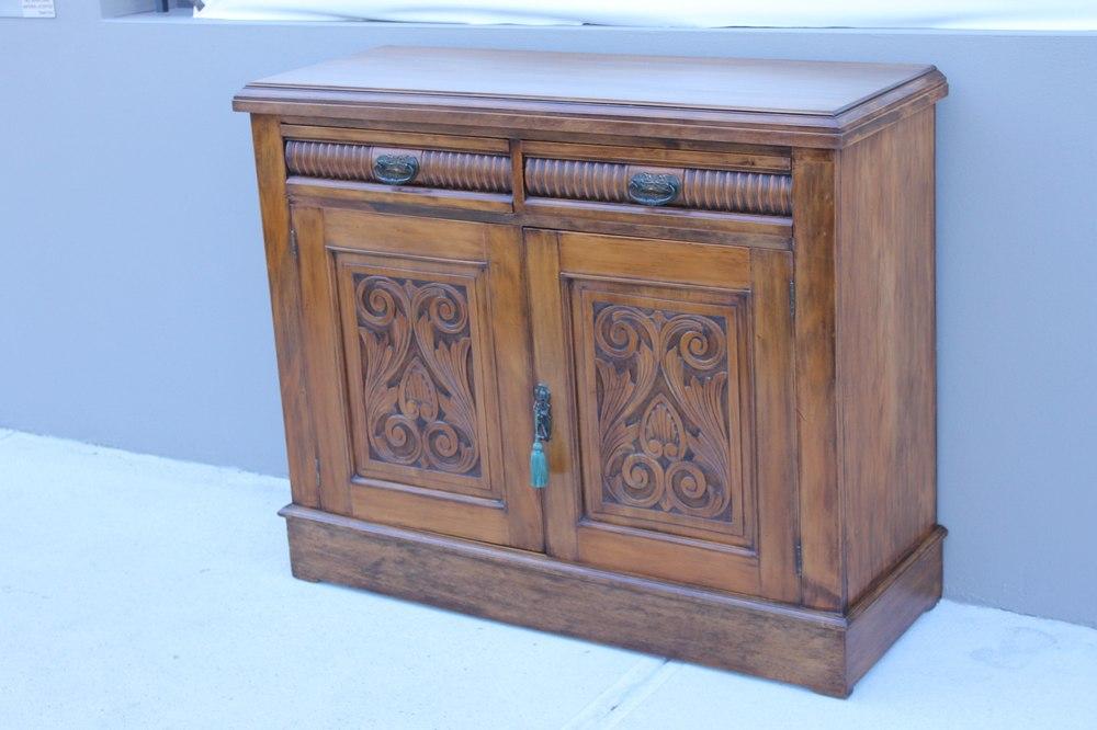 Delicieux An Edwardian Kauri Pine Sideboard. Circa 1900. L   1190 U0026nbsp;W