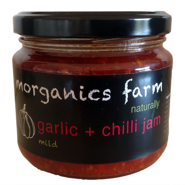 - Garlic bulbs, braids, garlic bunches, garlic scapes, garlic pesto, garlic bombs, garlic and chilli jam.