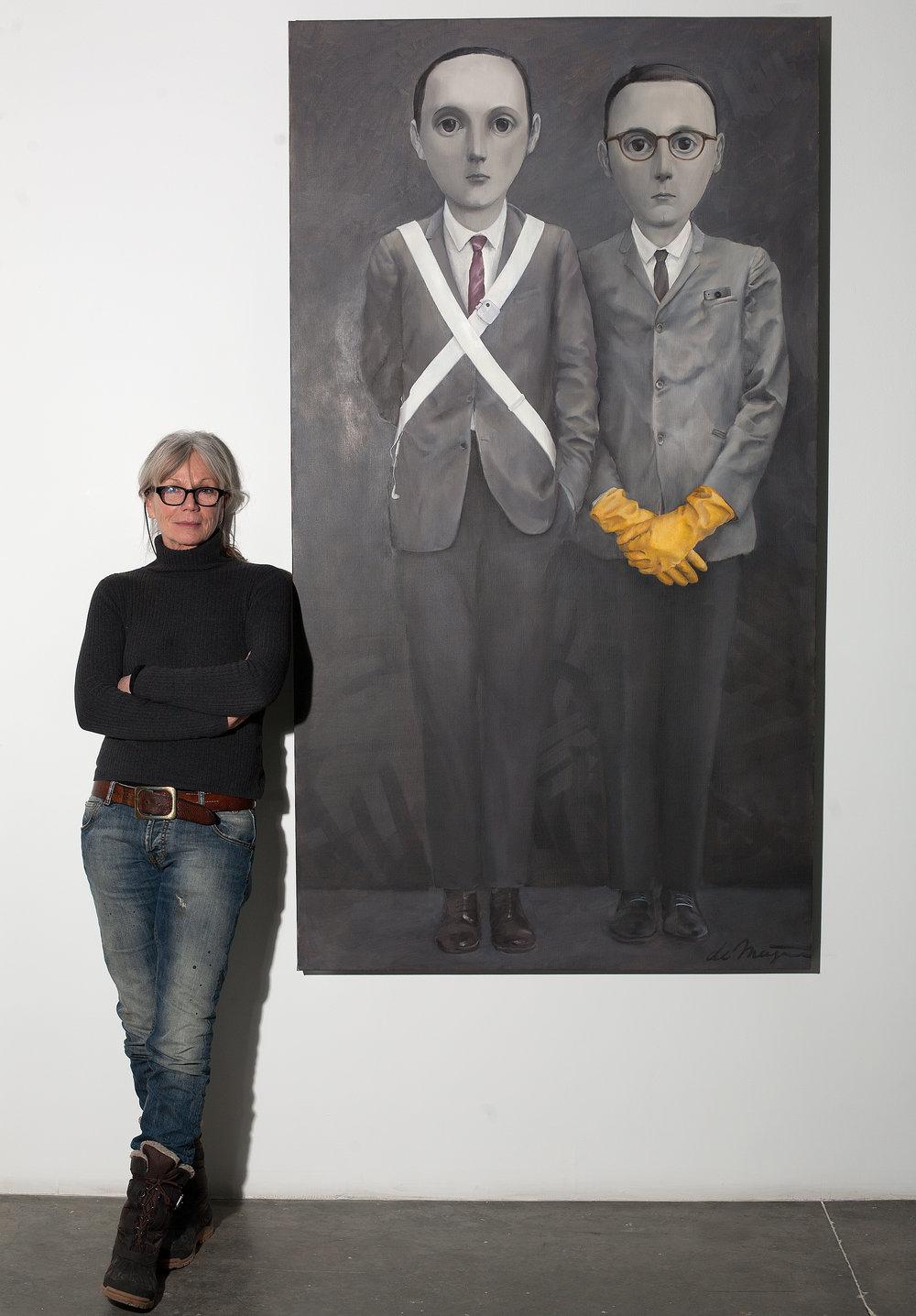 Ellen de Meijer, 2015, New York, NY