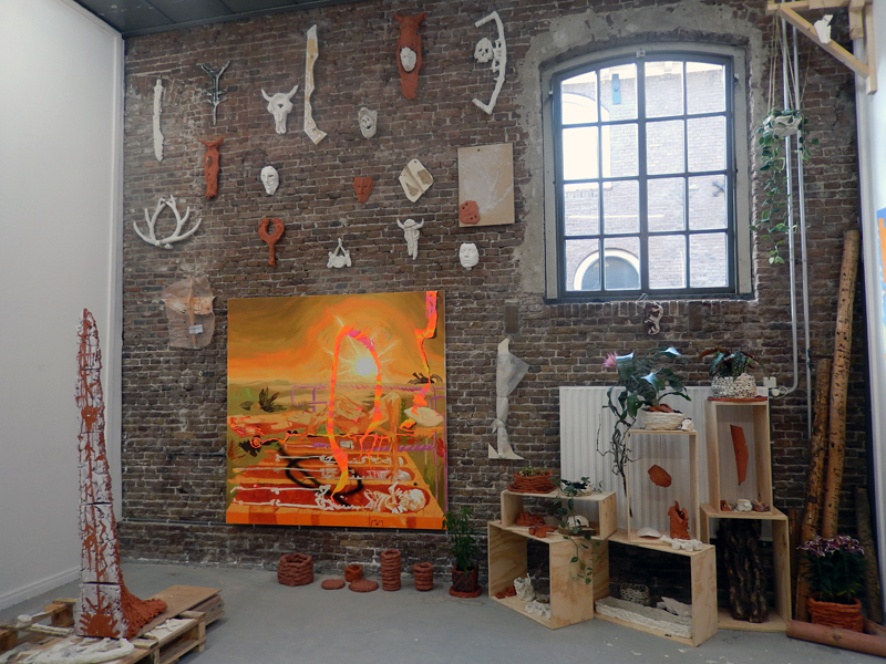 Installation view of Rijksakademie Open 2017