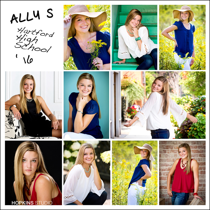 LOOK BOOK : Ally Sinclair