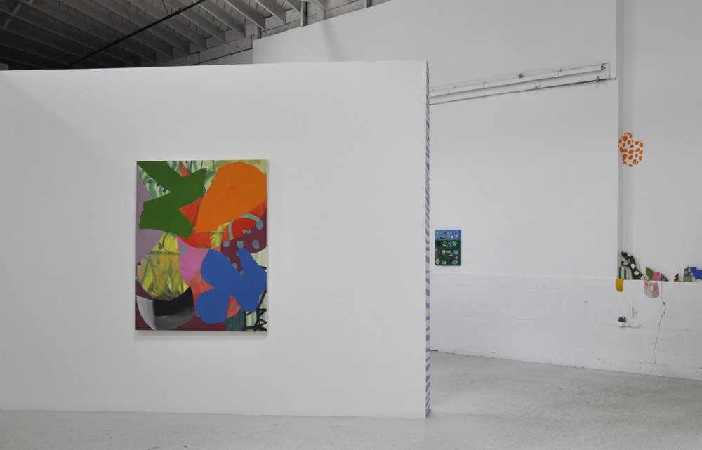 Installation view of PURPLE, [Tears of Rage] exhibition