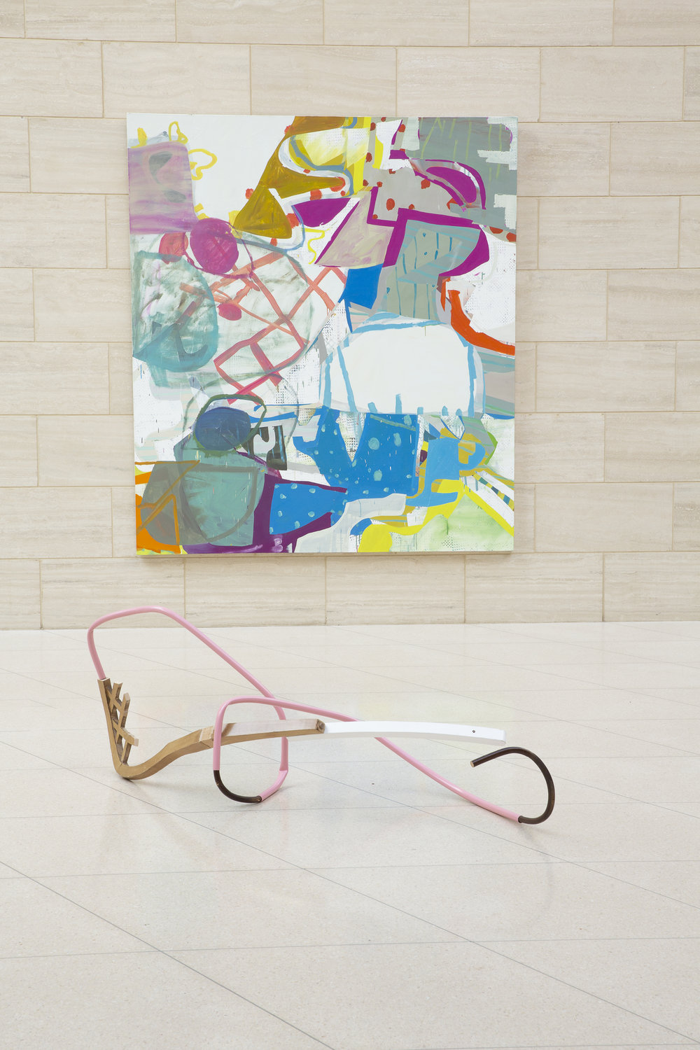 Installation view, Kirk Stoller front