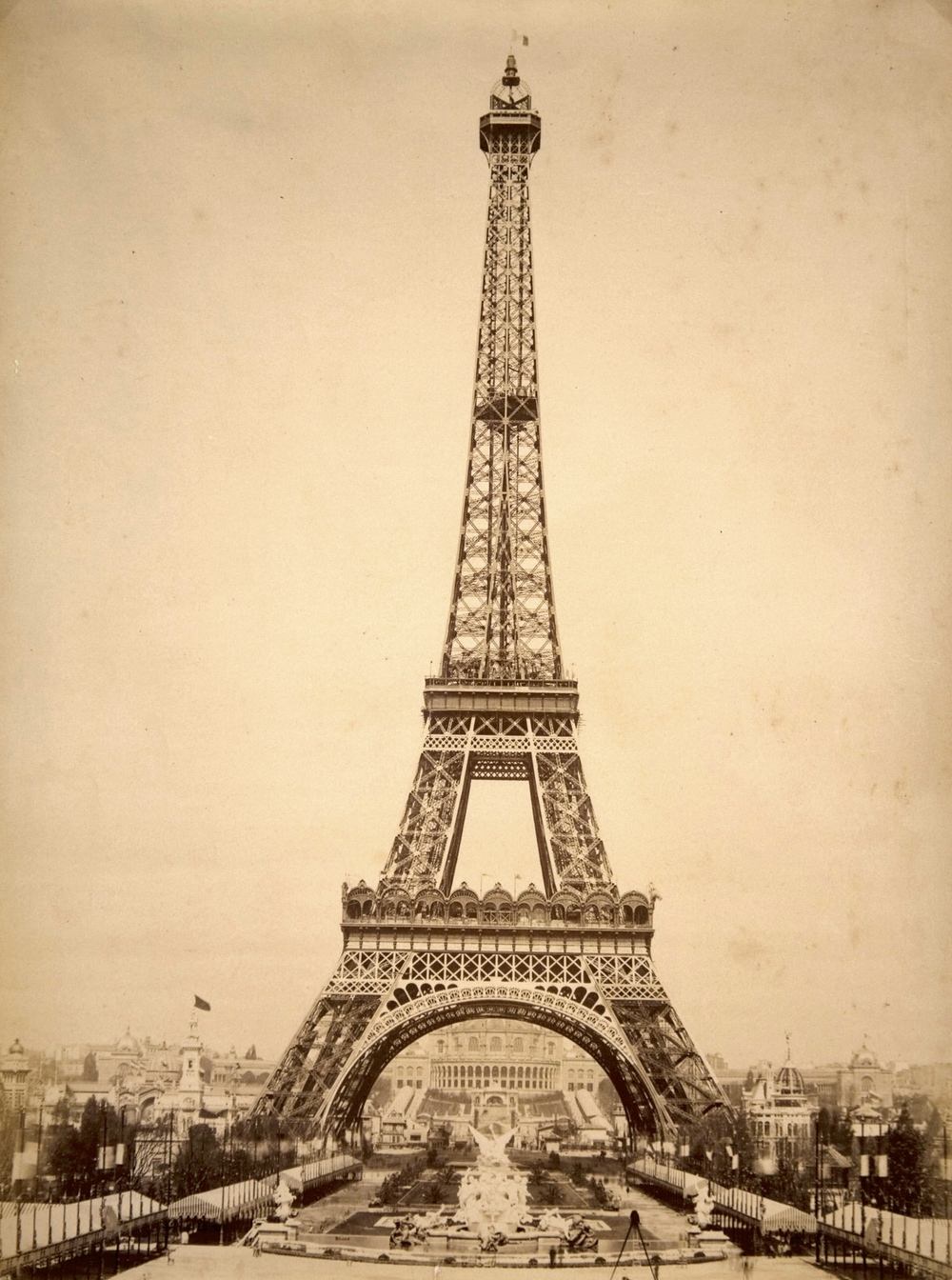 Eiffel Tower in 1899