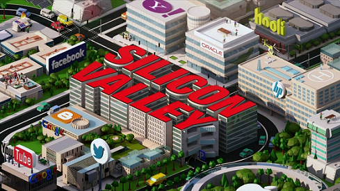 "Rather improbably,  Wikipedia claims  that this image from the title credits of Mike Judge ' s new show   Silicon Valley    ""  i  s in the  public domain  in the United States because it is a  work prepared by an officer or employee of the United States Government as part of that person's official duties  under the terms of Title 17, Chapter 1, Section 105 of the US Code. ""  Please don   '   t sue me, Home Box Office!"