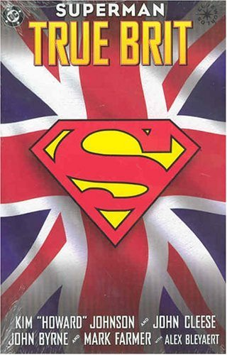 Superman: True Brit   (Cover art from DC Comics. Licensed under Fair Use of copyrighted material in the context of  Superman: True Brit  via  Wikipedia .)