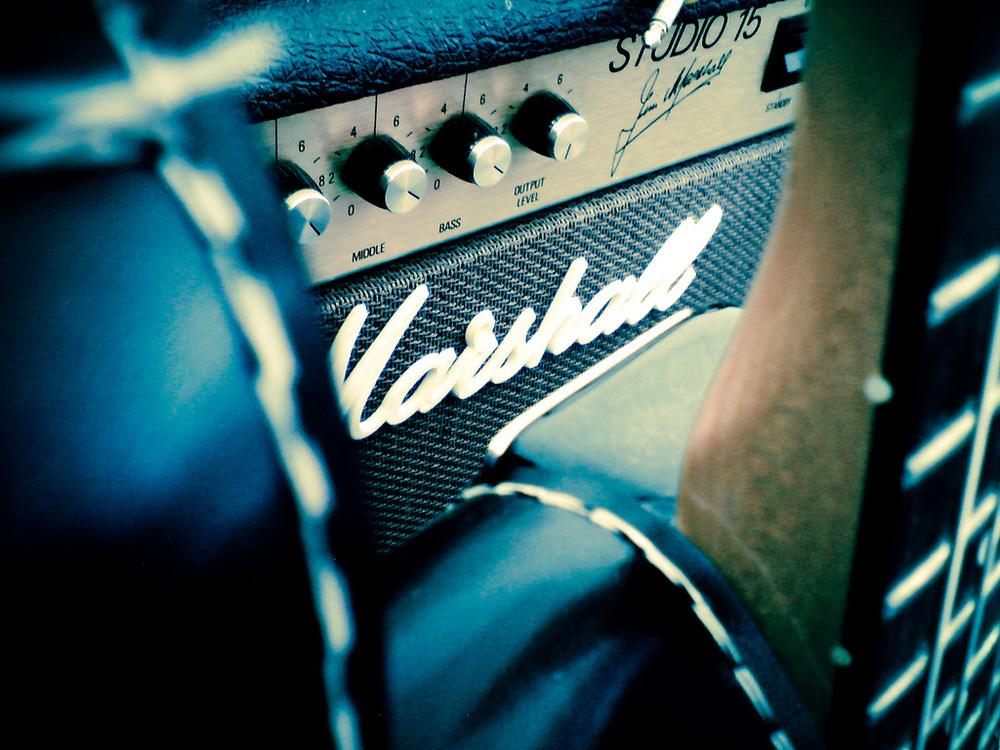 Image credit:   guitar & amp pr0n   (2009), by  Marco Raaphorst .