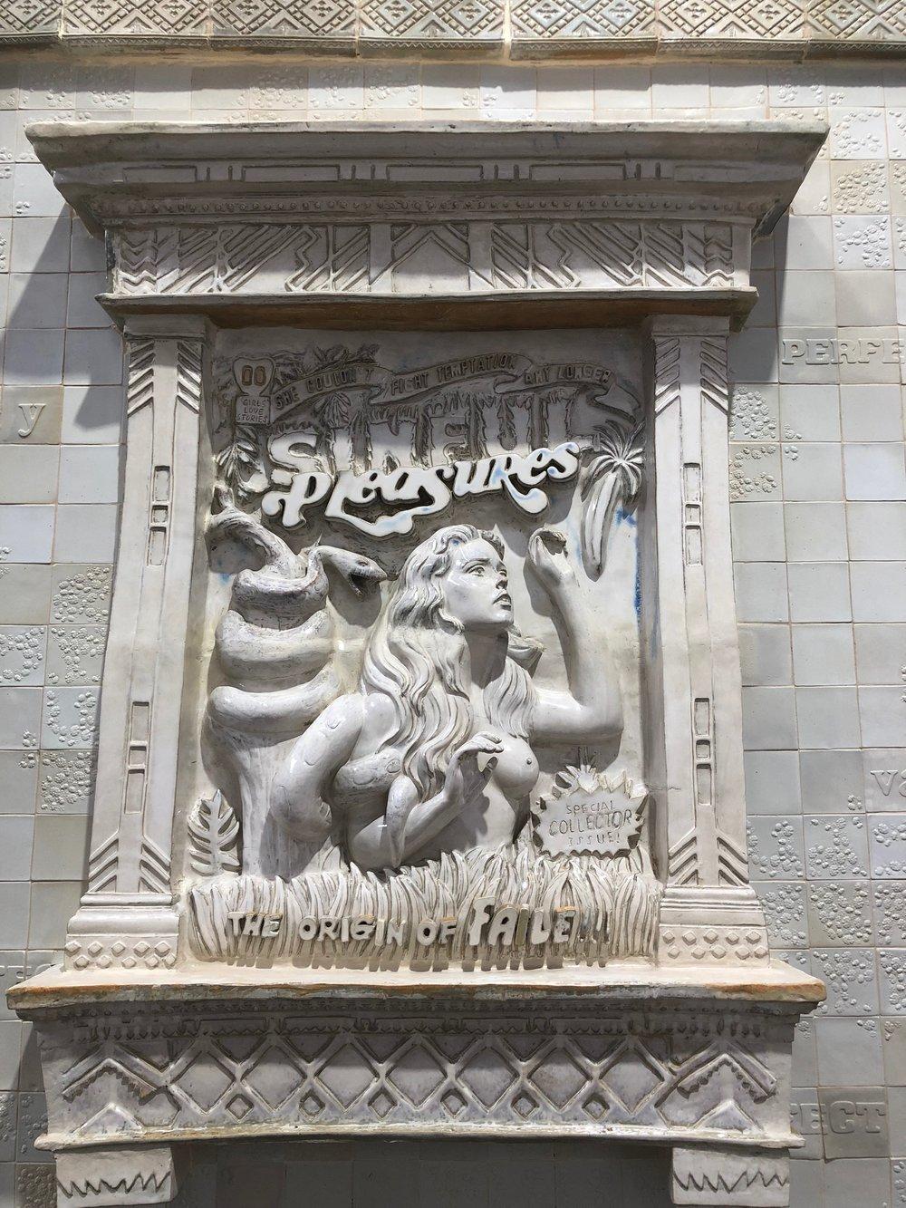 FAILE TEMPLE  outer detail. Sculpture by FAILE.