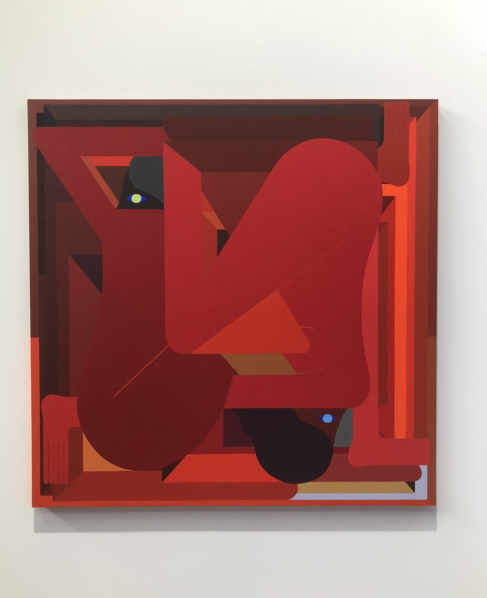 L.A. Painting (Red)  by Richard Colman