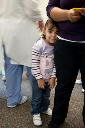 Little Girl Patient