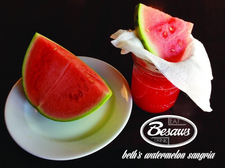 Watermelon Sangria 2