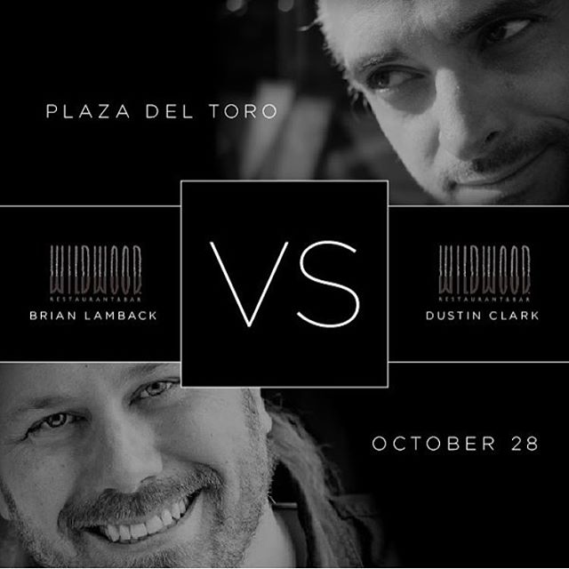 Don't miss the showdown between sous chef Brian Lamback and our very own chef Dustin Clark! In this 18th edition of VERSUS, mentor takes on apprentice in a culinary battle of pear, olive oil, and sweetbreads. Join us October 28th, 6pm at PLAZA DEL TORO: 105 SE Taylor. _______________________________________________________  Tickets can be purchased at http://plazadeltoropdx/event-tickets/vs-oct-2016
