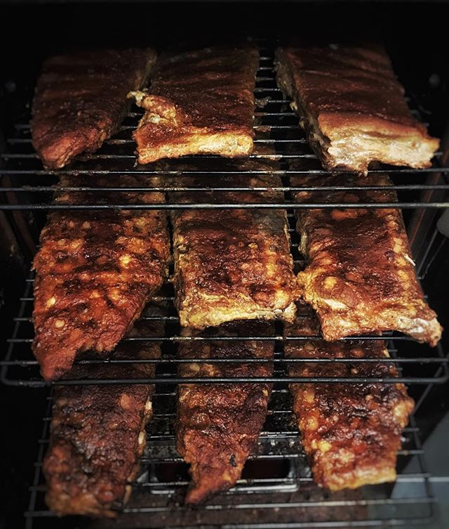 Who's got dibs on these ribs!? - Tomorrow's lunch special features delicious alder smoked, St. Louis -style ribs. Come get your hands on these (literally)!