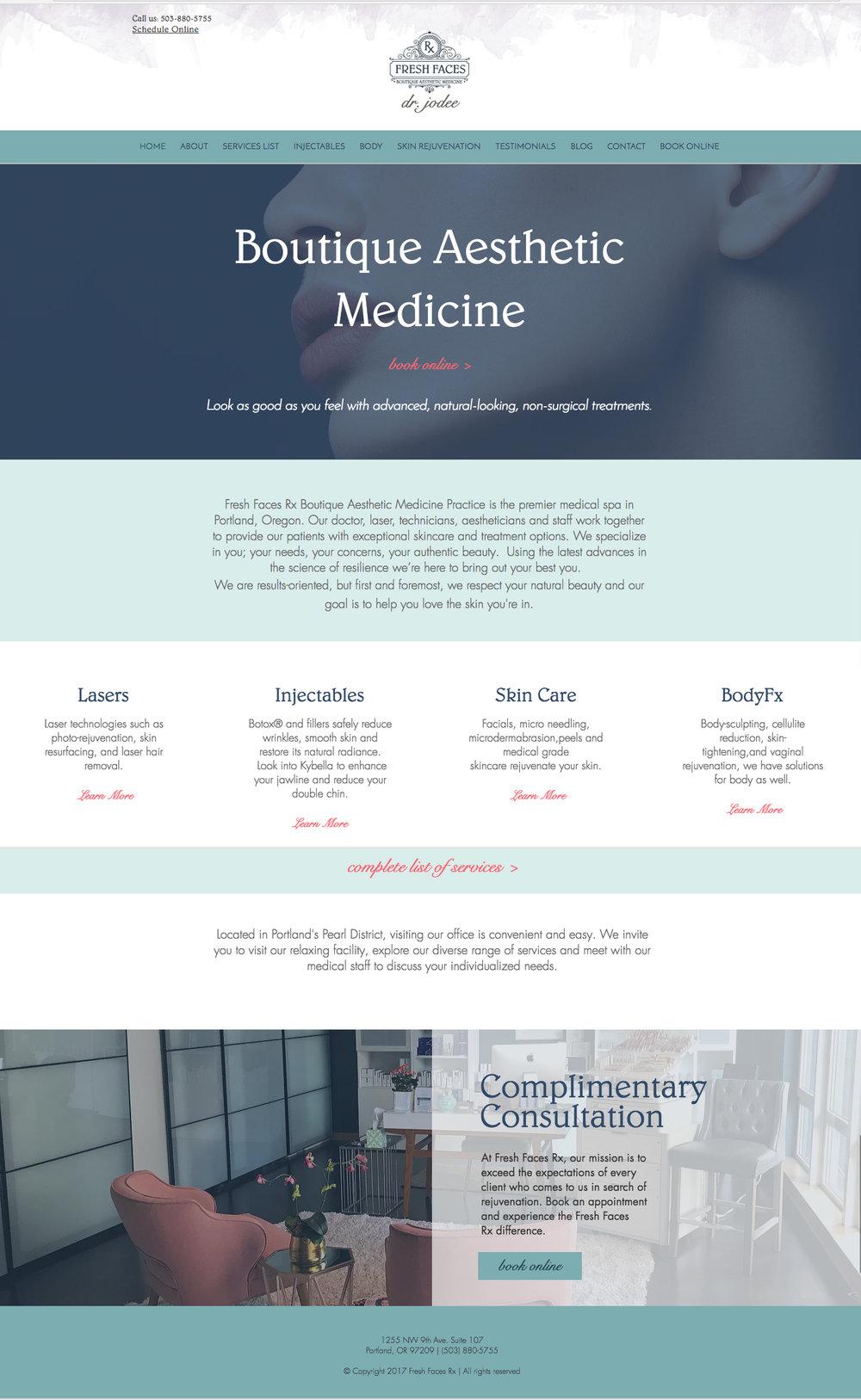 Complete Website Re Design